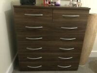 Chest of Drawers - 7 in total