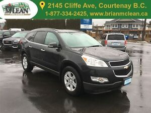 2012 Chevrolet Traverse LT 2nd Row Captains Chairs