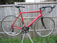"""REVOLUTION CONTINENTAL RACE MENS CYCLE 24 SPEED - 22"""" ALLOY FRAME/CARBON FORKS"""