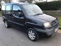 2005 FIAT Doblo Multijut family 70bhp 1.2 diesel 7 seater