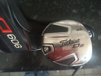 Titleist 909 D2 9.5 Degree driver