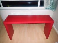 Lovely red colour dressing table