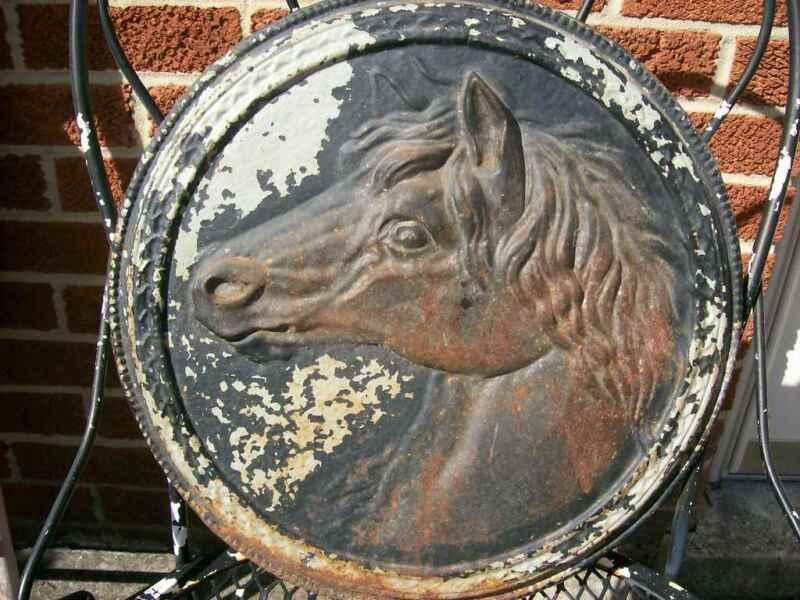 HORSE HEAD PLAQUE