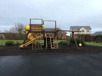 Childrens Outdoor Play System