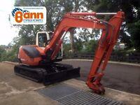 Kubota KX080 8 Ton Excavator