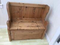 Pine Monks Bench / Pew