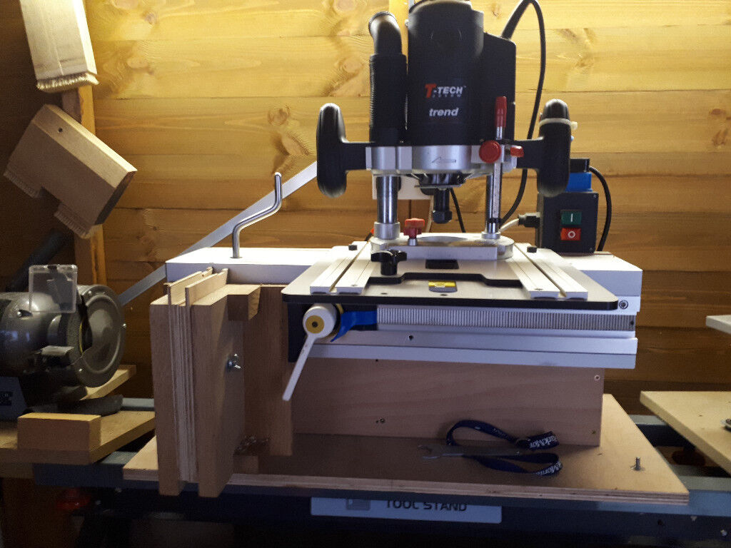 Trend Router; LittleRat woodworking system; Toolstand & accessories