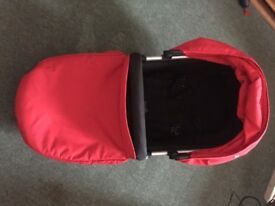 complete travel system, mothercare xpedior pushchair, pram in good condition