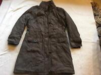 Per una ladies puffy coat size M/12 used £5