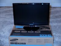 "Samsung SyncMaster 933HD 18.5"" Digital TV Monitor"