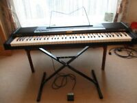 CASIO ELECTRIC PIANO, CPS-700 WITH STAND AND PEDAL AND INSTRUCTION BOOKLET £75 ONO