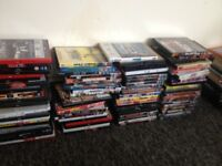 90 Mixed Movie DVDs