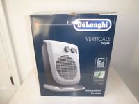 DeLONGHI VERTICAL OSCILLATING FAN HEATER (NEW other)