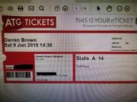 Derren Brown tickets