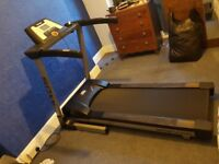 Kettler powered treadmill with powered incline