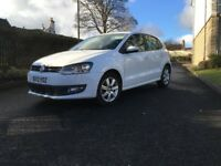VOLKSWAGEN POLO MATCH EDITION 1.2 5 DOOR 60PS WHITE BARGAIN CHEAP