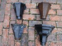cast iron rain water hoppers