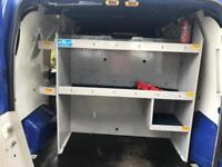 Van racking/shelving. Heavy duty. With ladder storage