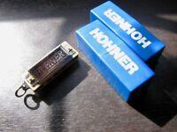 3x Hohner mini harmonicas