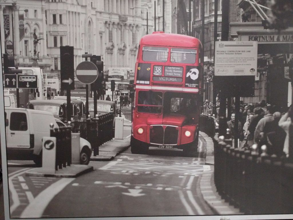 Ikea Trysil Double Bed Frame ~ Ikea  Vilshult Wall Art  London Bus  in Streatham Hill, London
