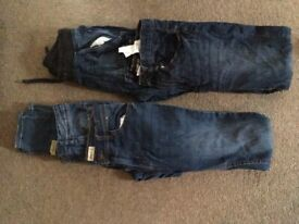 4 pairs of boys denim jeans