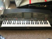 Yamaha synthesiser PSR-800 keyboard with sample presets collection