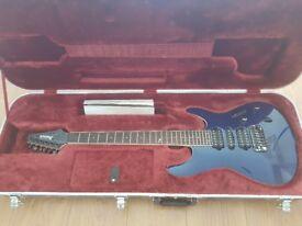 Ibanez Prestige SV5470F Natural Blue Electric Guitar - COMES WITH HARD CASE!