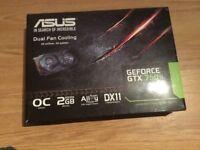 ASUS GTX 750TI 2GB OC MINT CONDITION O.N.O