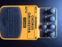 BETRINGER CHORUS ORCHESTRA EFFECTS PEDAL - £15