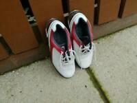 Junior footjoy golf shoes size 2