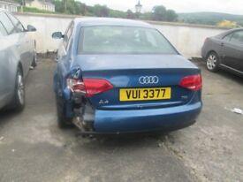 Audi A4 Damge Repairable