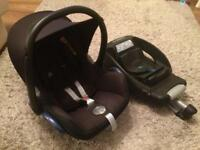 Car seat and Base Maxi Cosi Easybase 2