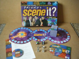 (Friends Scene it) DVD board game from 2005. Complete in excellent condition.