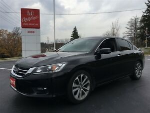 2014 Honda Accord Sedan Sport Kitchener / Waterloo Kitchener Area image 1