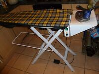 Vacuum Suction Commercial Ironing Board Self-contained vacuum Heated pressing surface