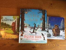 The Gruffalo, Gruffalo's Child and Stick Man books