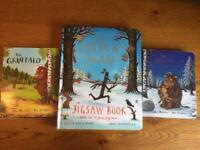 The Gruffalo, Gruffalo's Child and Stick Man books