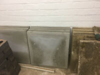 2ft x 2ft grey paving slabs
