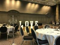 LED LOVE LETTERS 07730043096