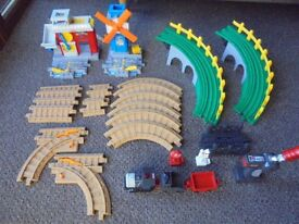 Geotax Remote Control Train Set (2 x full sets plus extra track & train)