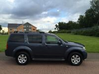 2006 NISSAN PATHFINDER 7 SEATER 2.5 DTI AUTO 4X4 FULLY LOADED/ MAY PX OR SWAP