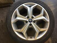 Ford S Max alloy wheel with tyre