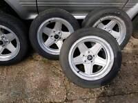 Mercades alloy wheels