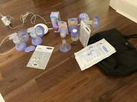 Lansinoh 2in1 Electric Breast Pump +extras