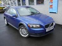 VOLVO C30 1.8 SE 3d 124 BHP **FULL SERVICE HISTORY** (blue) 2008