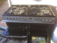 8 burner dual fuel cooker