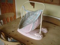 Baby Annabell swinging carry basket