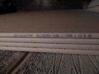 Plasterboard - Square edge 2400mm x 1200mm x 12.5mm (2.88m²/ Sheet) X 4