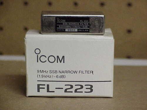 ICOM FL - 223 SSB Narrow Filter