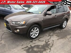 2013 Mitsubishi Outlander ES, Automatic, Leather, Sunroof, Heate
